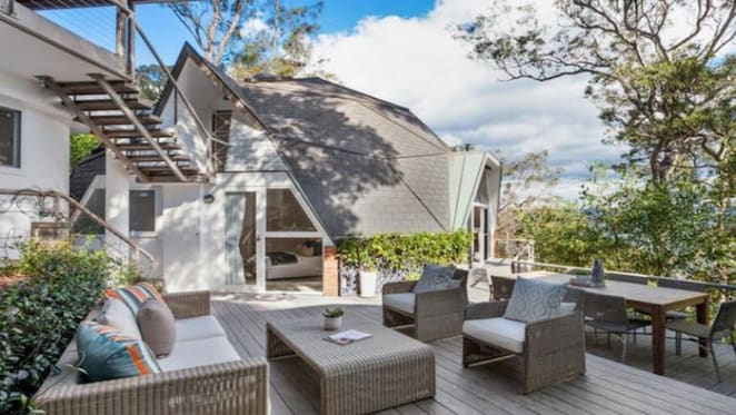 Award-winning producer Sam Littlemore buys igloo Avalon home