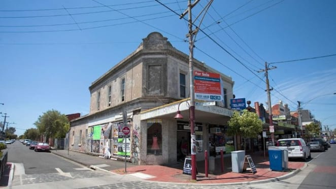 Retail mixed-used building in Melbourne's Brunswick East for sale: Savills