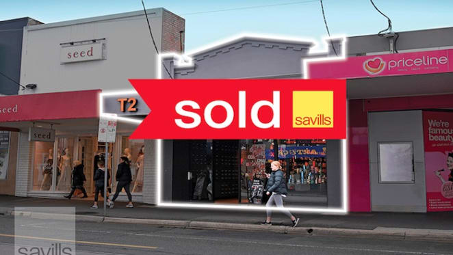 Camberwell retail property sells for $6 million through Savills
