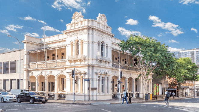 Brisbane's Fortitude Valley hotel on the market