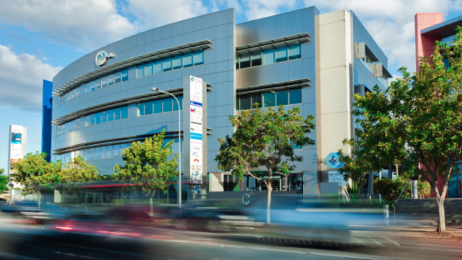 Leased office suites and cafe in Gold Coast's Robina up for sale