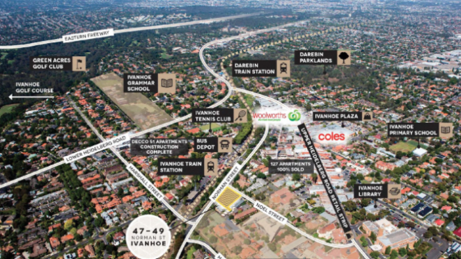 Melbourne developer buys apartment site for $5.7 million