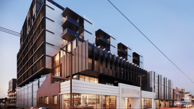 175-apartment project in Melbourne's Richmond nearly sold out