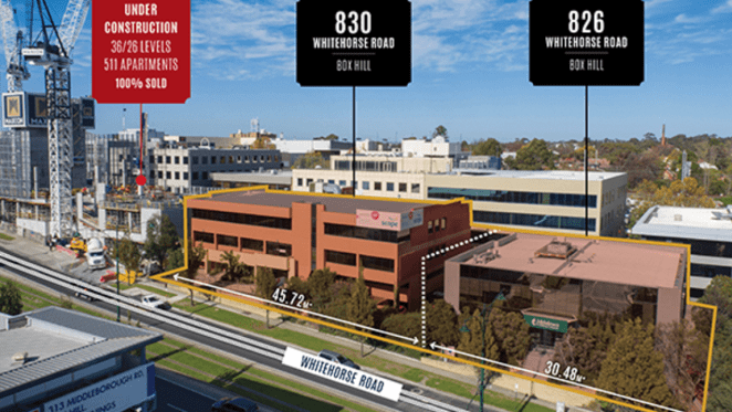 Office properties in Melbourne's Box Hill up for sale