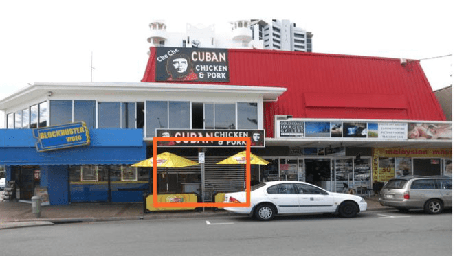 Fast food outlet in Gold Coast's Broadbeach up for lease through Raine & Horne