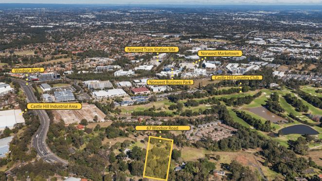 Development site in Sydney's Baulkham Hills up for sale