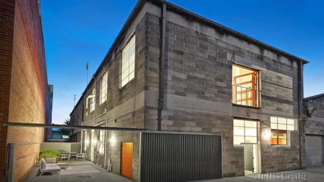 Converted Collingwood warehouse listed for sale