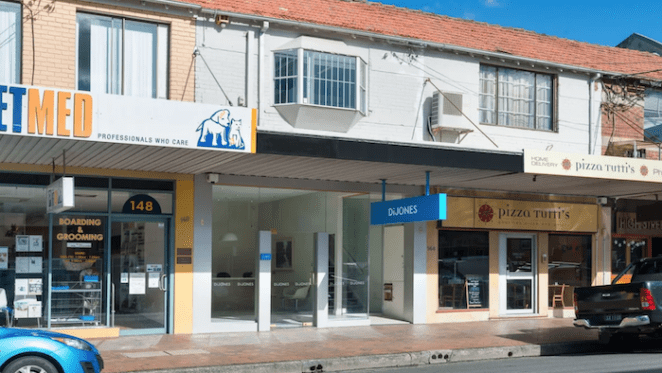 Vacated Di Jones Northbridge office listed for sale