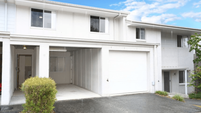 Pacific Pines mortgagee townhouse listed