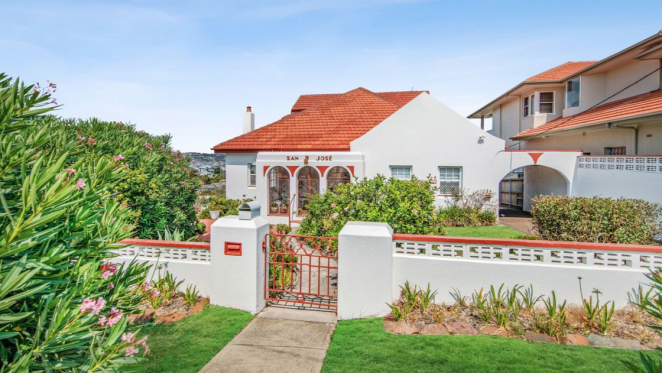 A Spanish Mission style home in Newcastle has sold
