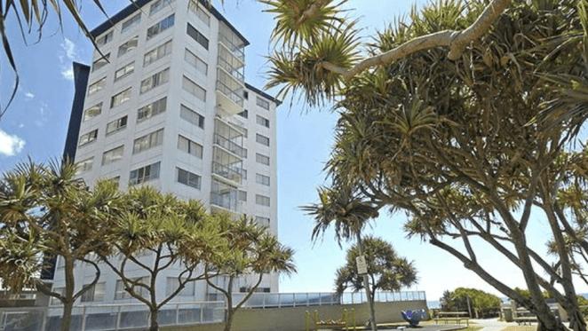 Entire beachfront Surfers Paradise unit block listed