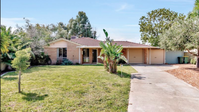 Greenfields, Western Australia mortgagee home listed for $200,000