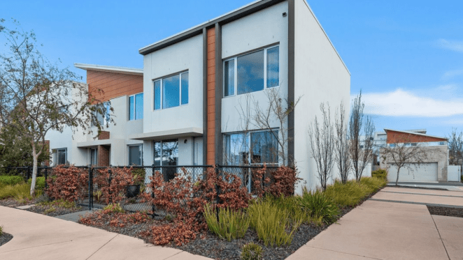 Two storey Bruce, ACT mortgagee unit listed