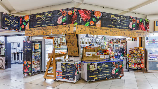 Northcote Plaza shop in inner northern Melbourne listed