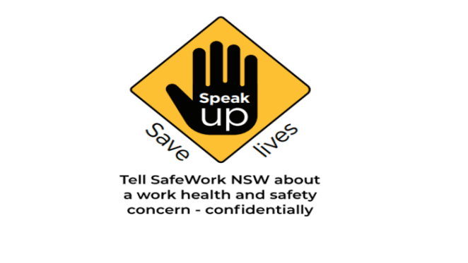 SafeWork NSW's new anonymous Speak  Up, Save Lives app