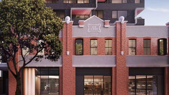 Bond Quarter in Melbourne's Spencer Street combines heritage with modern living