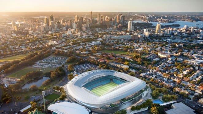 Sydney Football Stadium to cost $100 million over budget