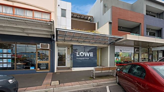 Leased retail space in Melbourne's Sandringham up for auction