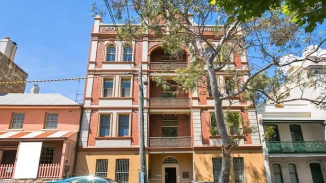 Sydney's first residential apartment building listed for sale in Millers Point