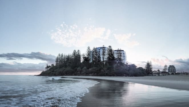 Sunland unveils its Coolangatta plans to replace three star Greenmount Resort