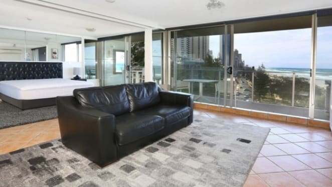 One bedroom Surfers Paradise mortgagee unit listed for $485,000