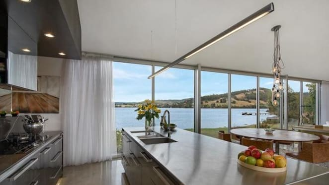 Restaurateur Margaret Hart lists Gardners Bay, Tasmania trophy home