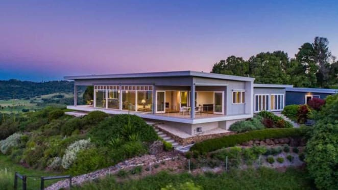 Off the grid eco-home Coorabell Dreaming listed near Byron