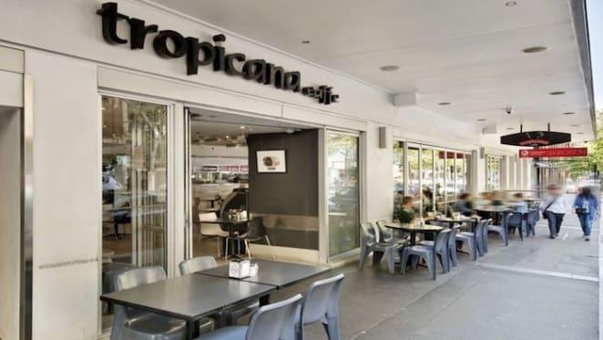 Freehold site of Darlinghurst's Tropicana Caffe for sale
