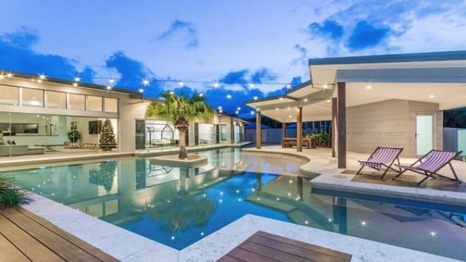 Tropical resort-style Gold Coast home for sale