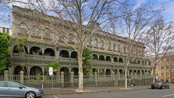 Space for rent in historic Tasma Terrace, Parliament Place Melbourne