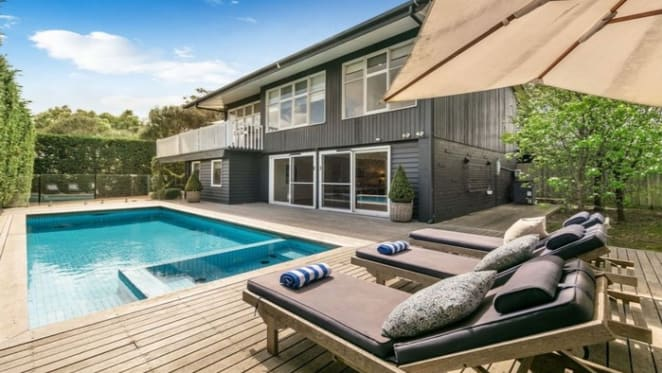 Portsea house on the hill listed