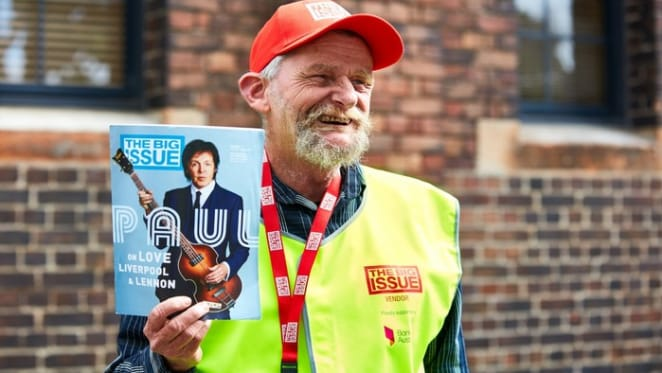 Property CEOs and Leaders support The Big Issue magazine