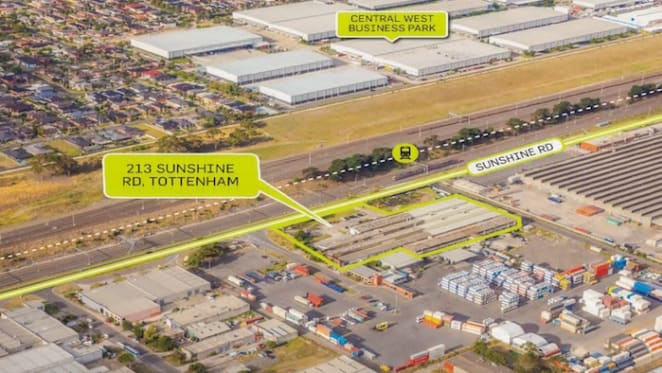 Industrial site in Melbourne's Tottenham sells to Asian investor for $6.5 million