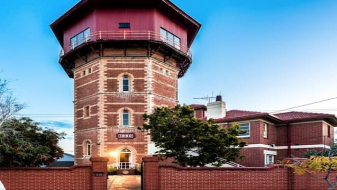 Adelaide water tower residential conversion for sale