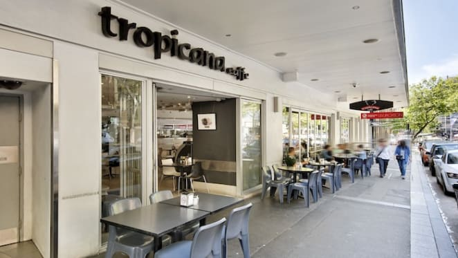 Darlinghurst cafe where film festival Tropfest was born snapped up before auction by expatriate