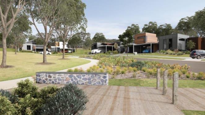 Developer Kataland launches eco-friendly housing site Underbank west of Melbourne