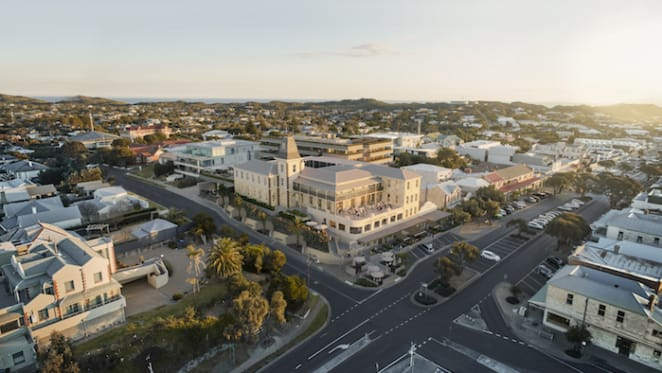 Sorrento's stalled Conti Hotel listed for sale