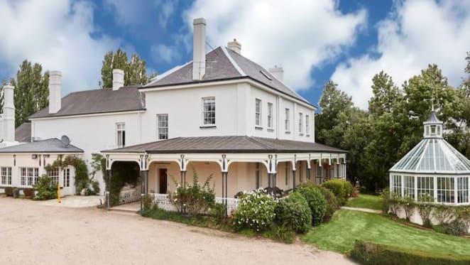 Vaucluse on Tasmania's Midlands still for sale