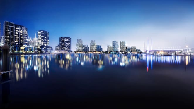 New residential neighbourhood to bring Collins Street to the water