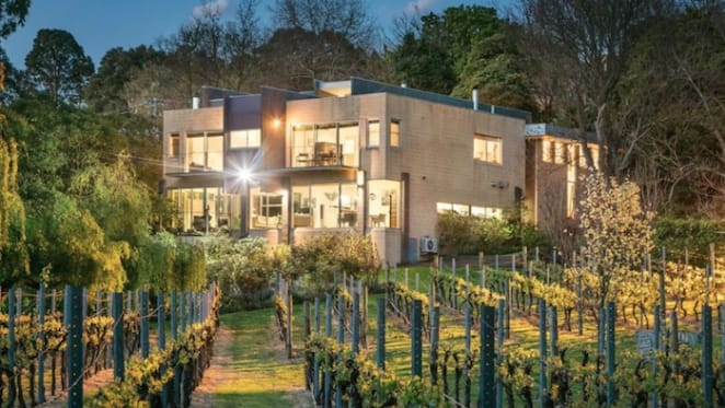 Hawthorn's Coppin Grove Wines vineyard on the Yarra sold