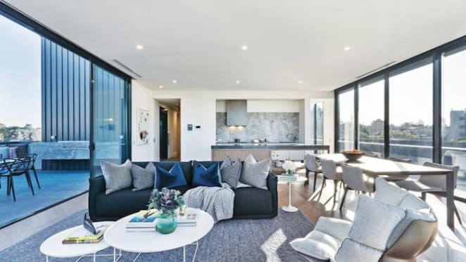 Woods Bagot-designed South Yarra penthouse for sale
