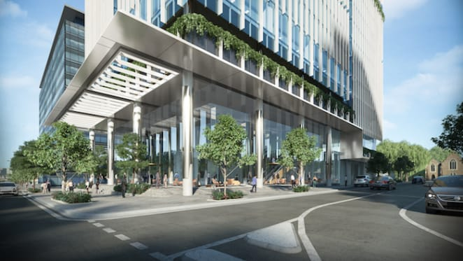 Walker Corporation plans modern commercial office tower in Brisbane's Fortitude Valley
