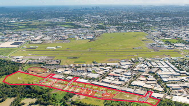 Three industrial lots in Brisbane's south sold OTP