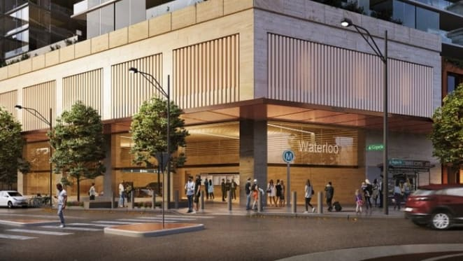 Aqualand shortlisted for Waterloo metro quarter development