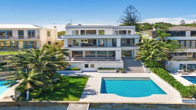 Clinton Murray-designed beach house listed at Watsons Bay