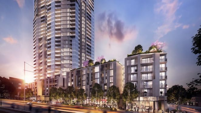 West Village, Parramatta secured 95% in OTP sales topping out nears