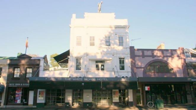 Savills list the White Horse Hotel premises in Surry Hills