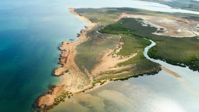 Wilderness Island off the Western Australia coast listed