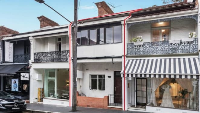 Original Victorian terrace listed on Paddington's William Street retail strip