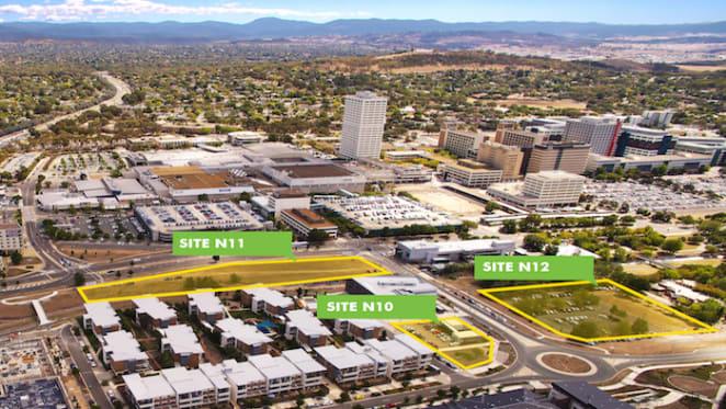 Triple development offering in Woden, ACT